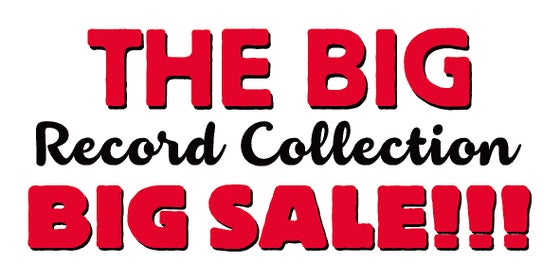 Image of THE BIG RECORD COLLECTION BIG SALE!!!