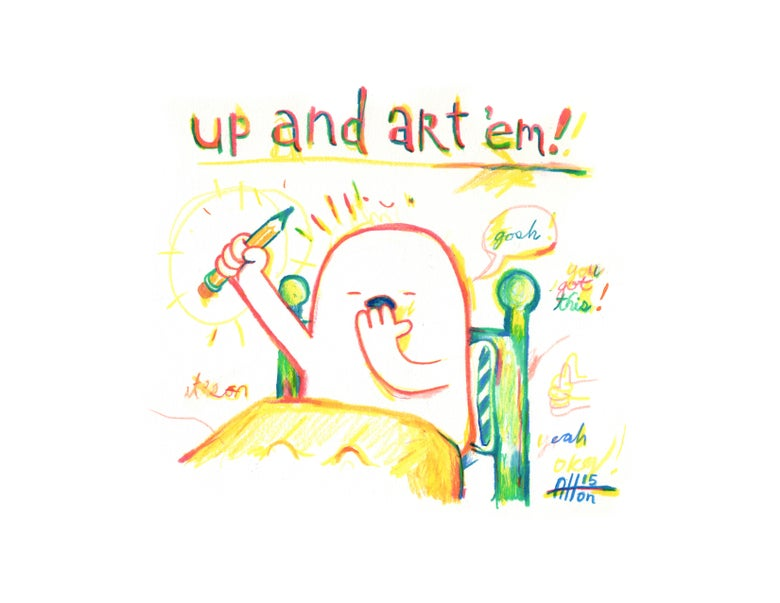 Image of Up & Art 'Em!