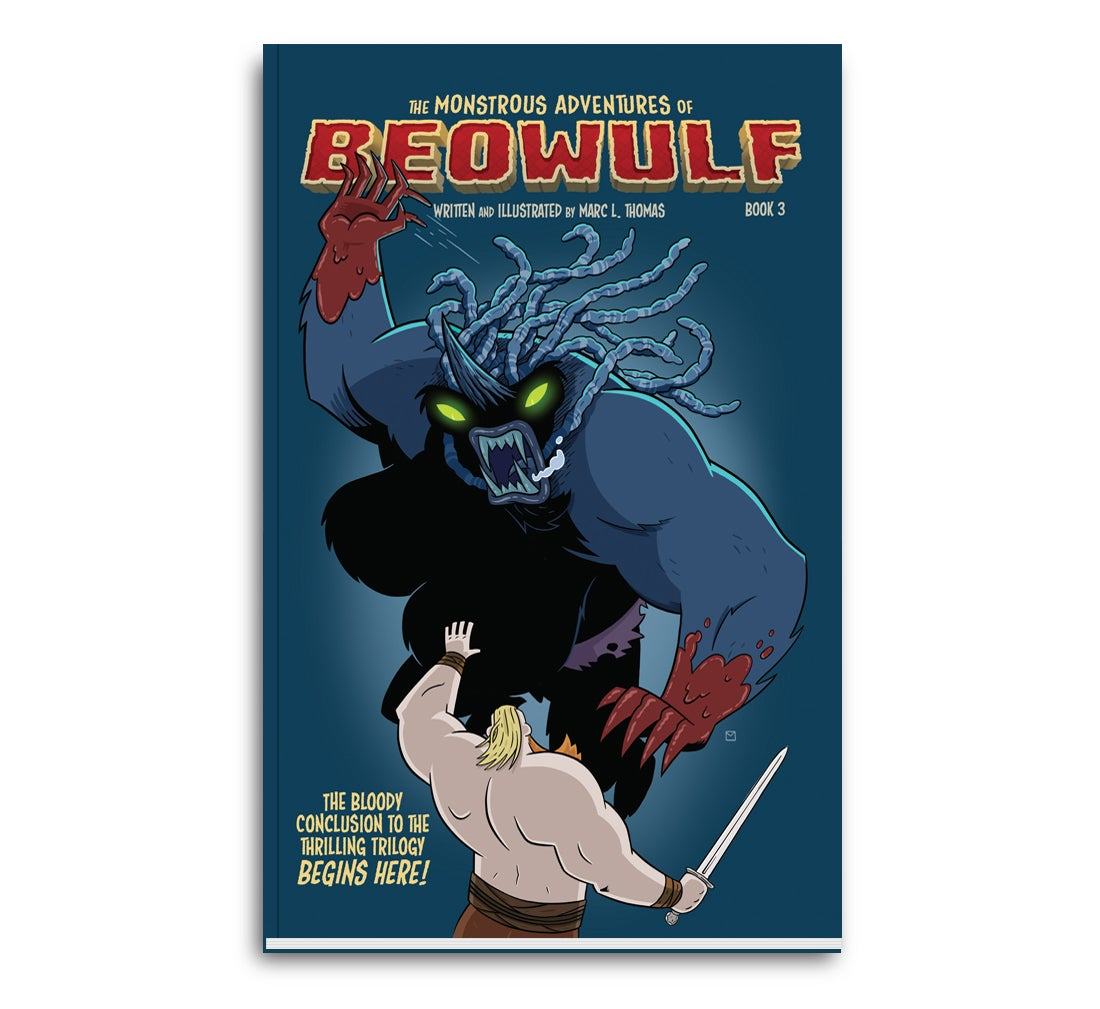 Image of The Monstrous Adventures of Beowulf Book 3 - Physical