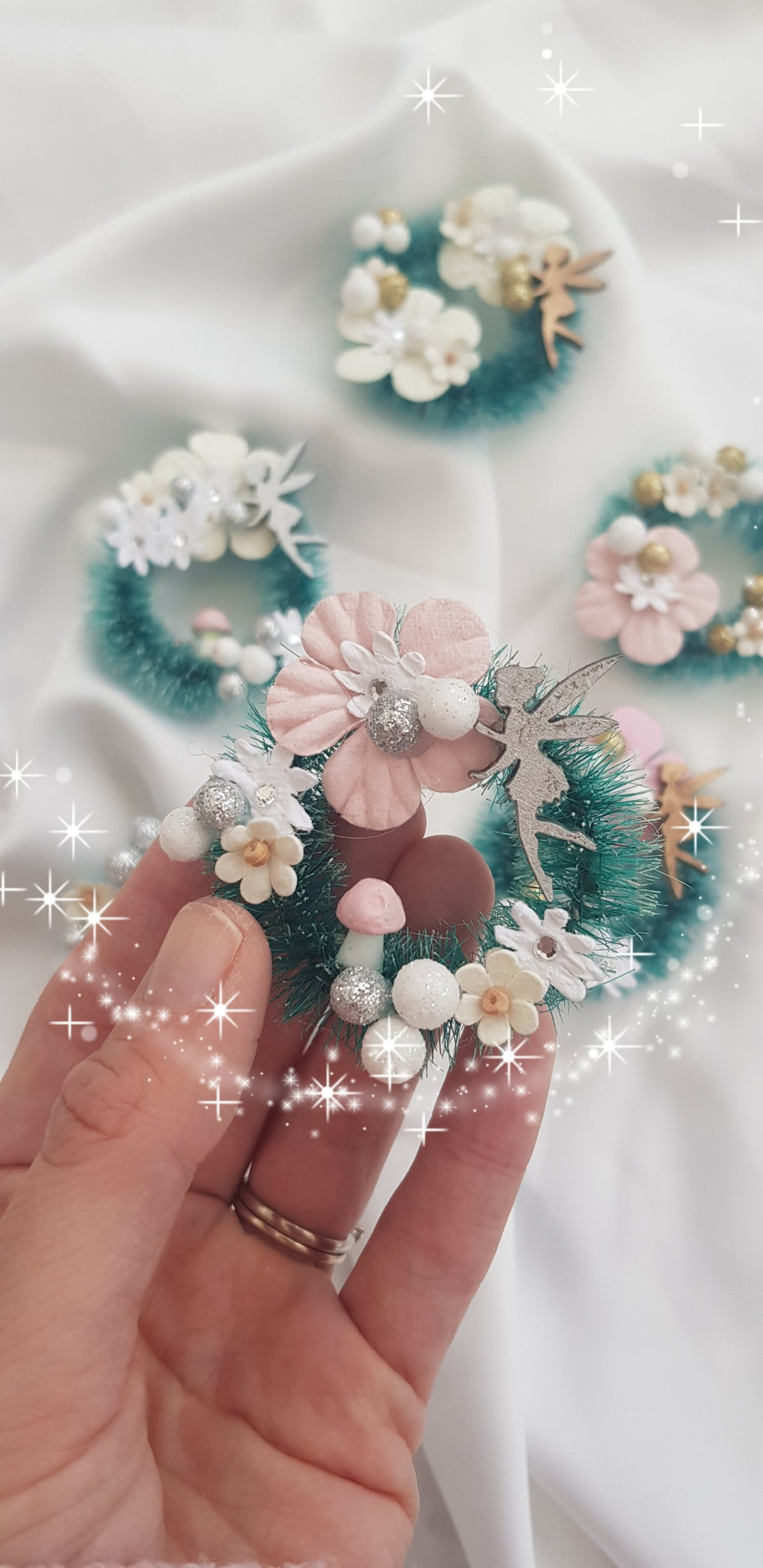 Image of Decorative Fairy Wreaths