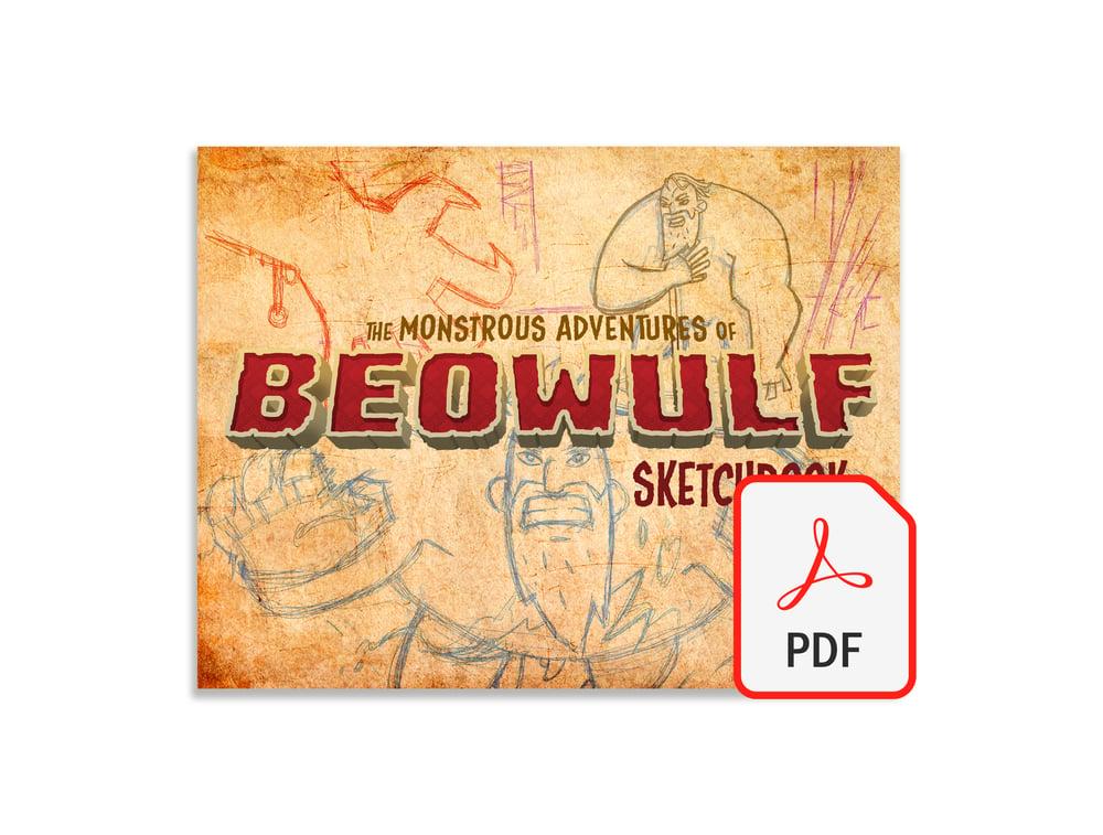 Image of The Monstrous Adventures of Beowulf Sketchbook - Digital