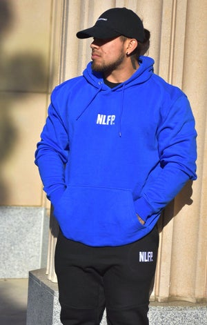 Image of PREMIUM NLFP HOODIE ROYAL BLUE