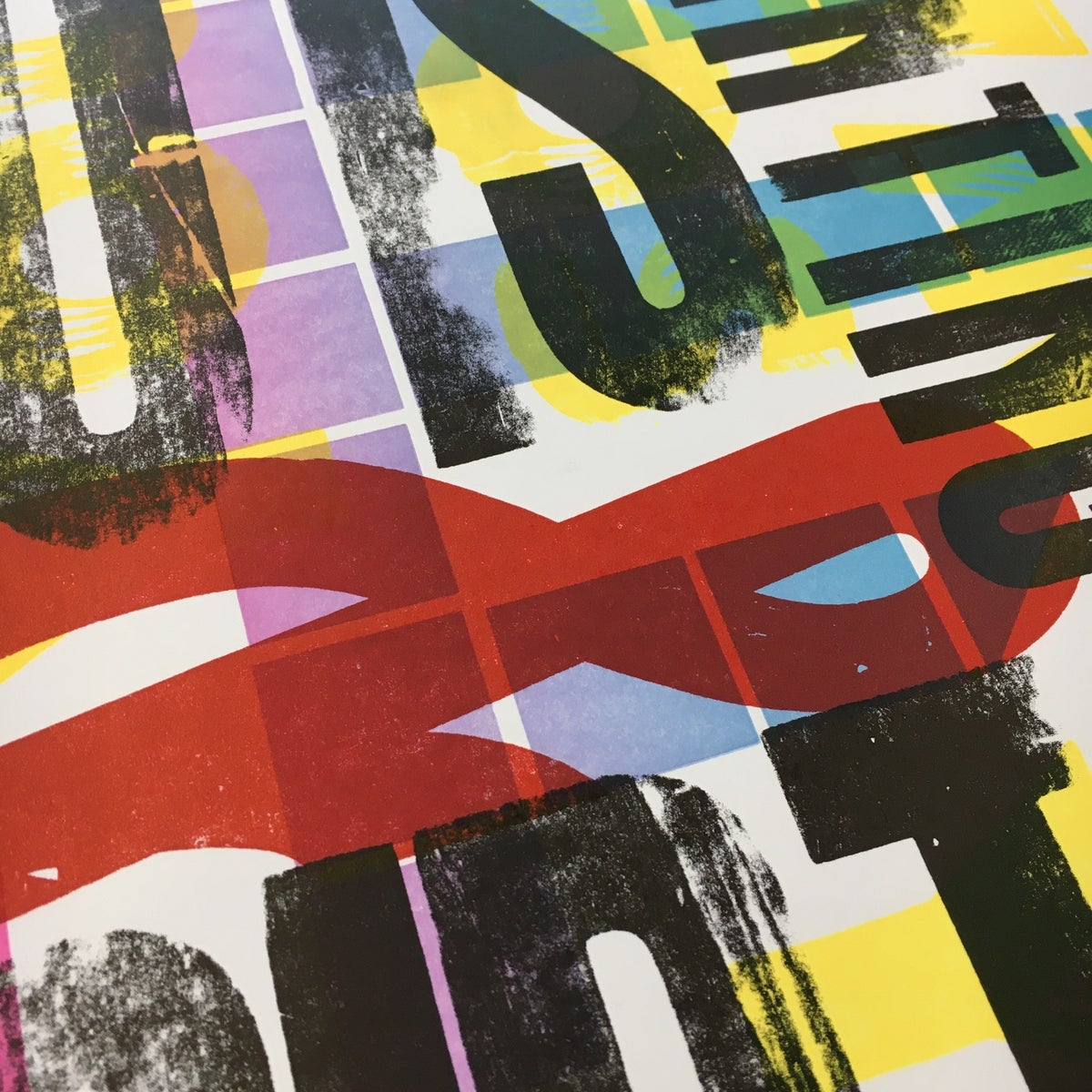 Image of One-off Typo Poster #2-010