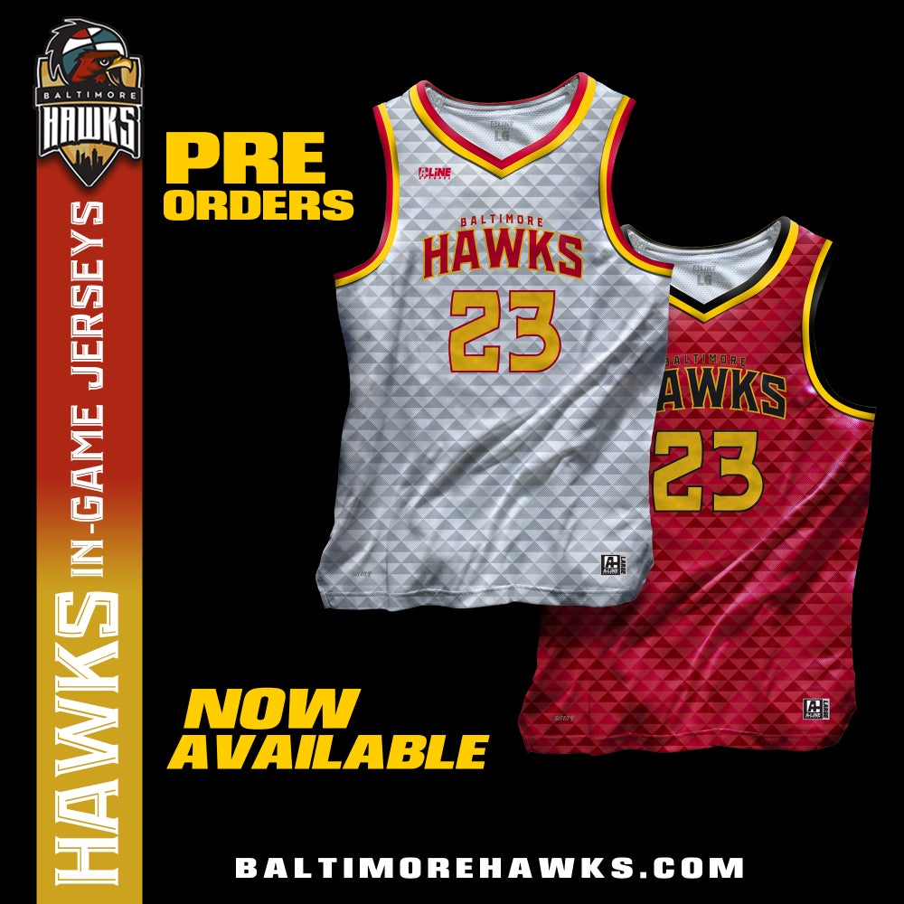 Image of 2019-20 Baltimore Hawks Authentic Game Jersey