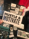Hustle & Motivate Stickers & Magnets