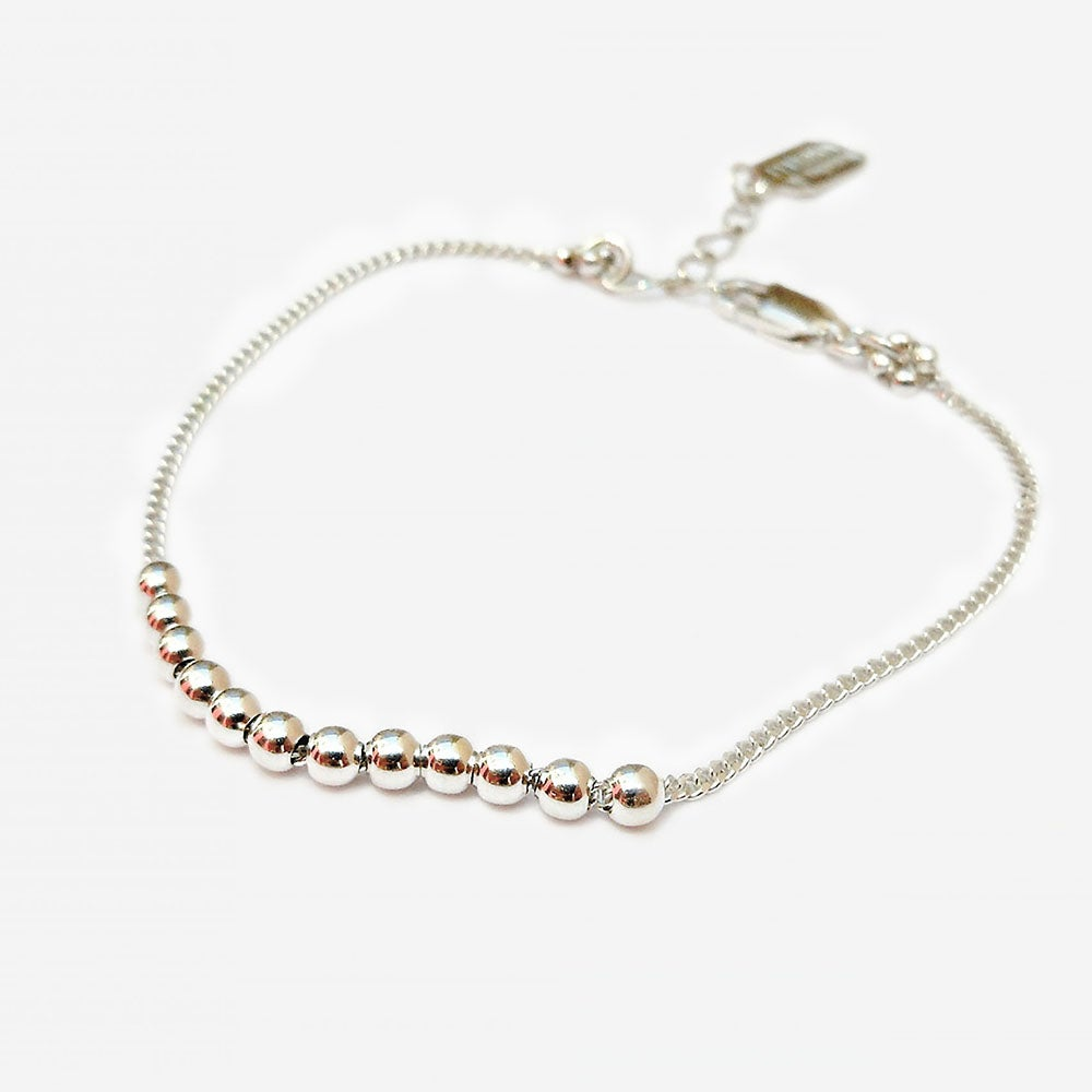 "Image of Bracelet Boules ""BB"""