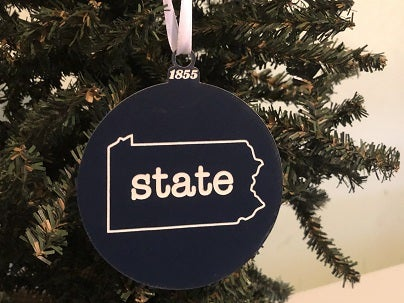 "Image of Acrylic PA ""state"" Ornament"