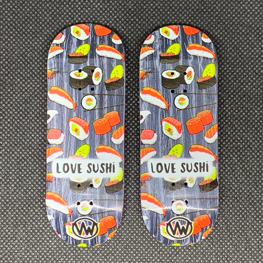 Image of 'Love Sushi' (clear)