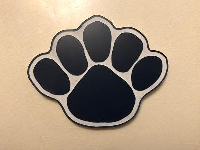 Image of Acrylic Lion's Paw Magnet
