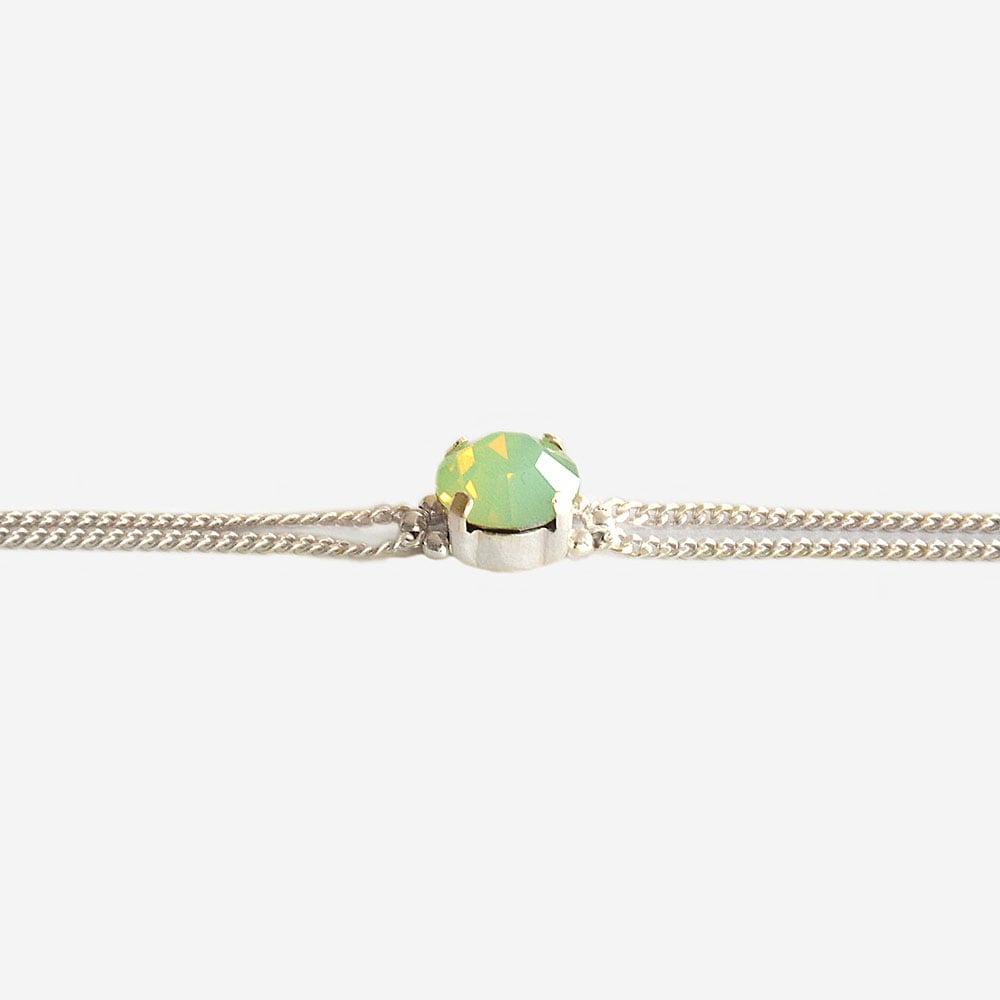 "Image of Bracelet vert Opale ""Cab"""