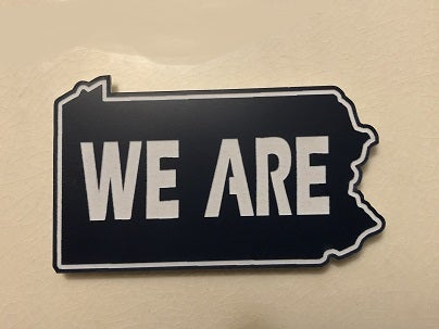 "Image of Acrylic ""We Are"" Magnet"