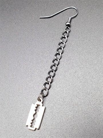 Image of RAZORBLADE Dangle Earring