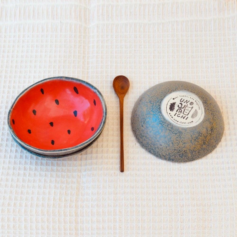 Image of small watermelon bowl set