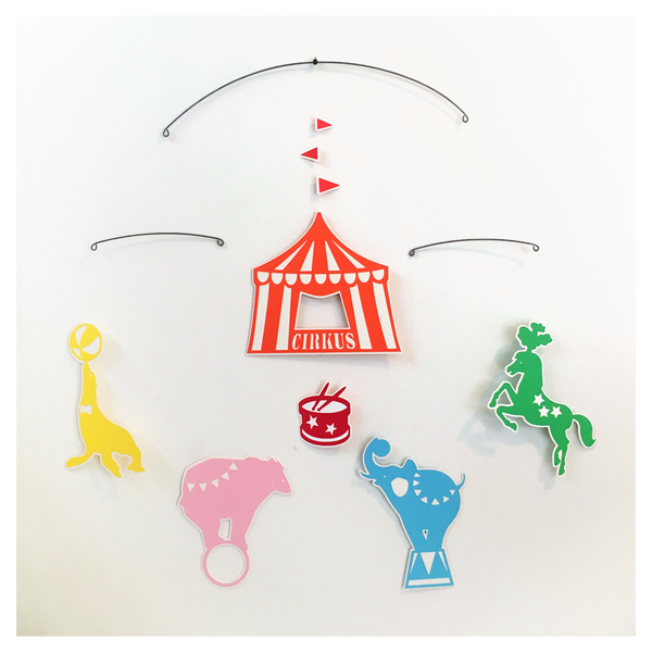 Image of Circus Hanging Mobile
