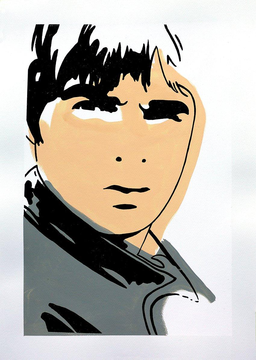 "Image of ""Noel Gallagher (Misprint MkI)"""