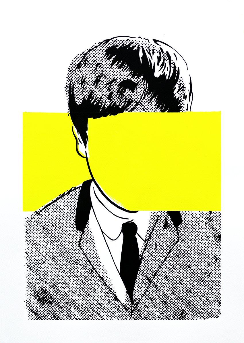 "Image of ""John Lennon (Yellow Stripe)"""