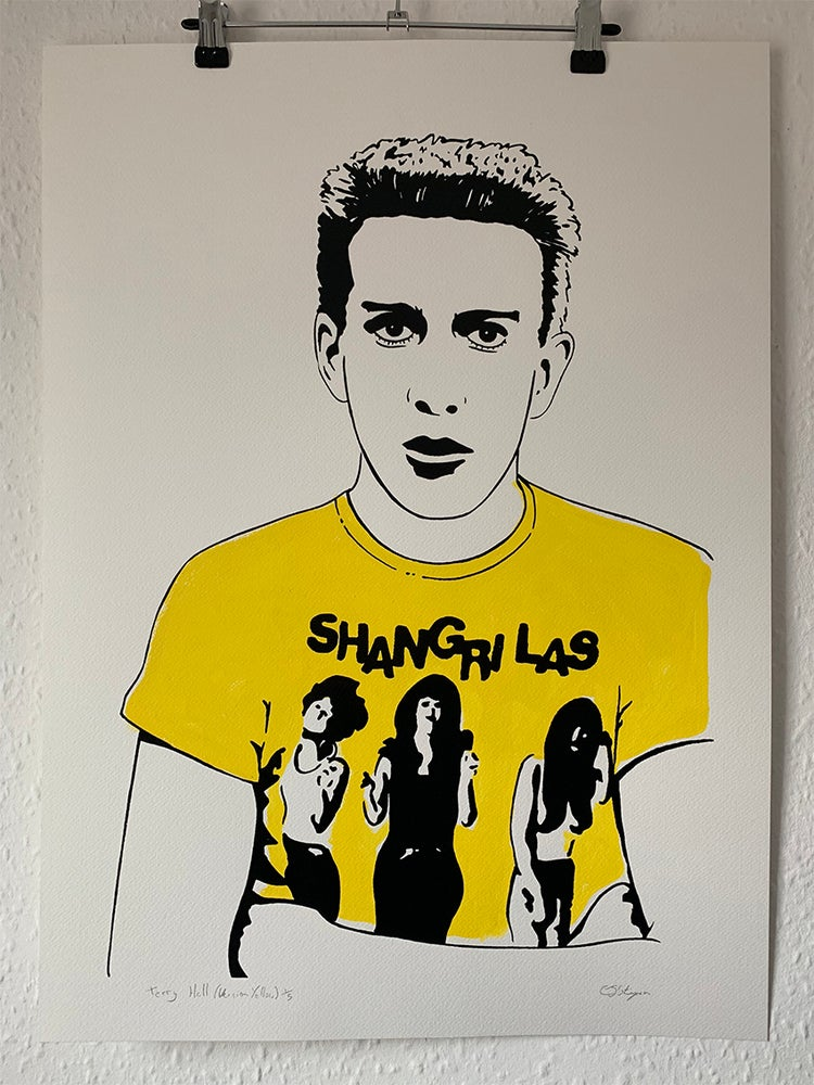 "Image of ""Terry Hall (Version Yellow)"""
