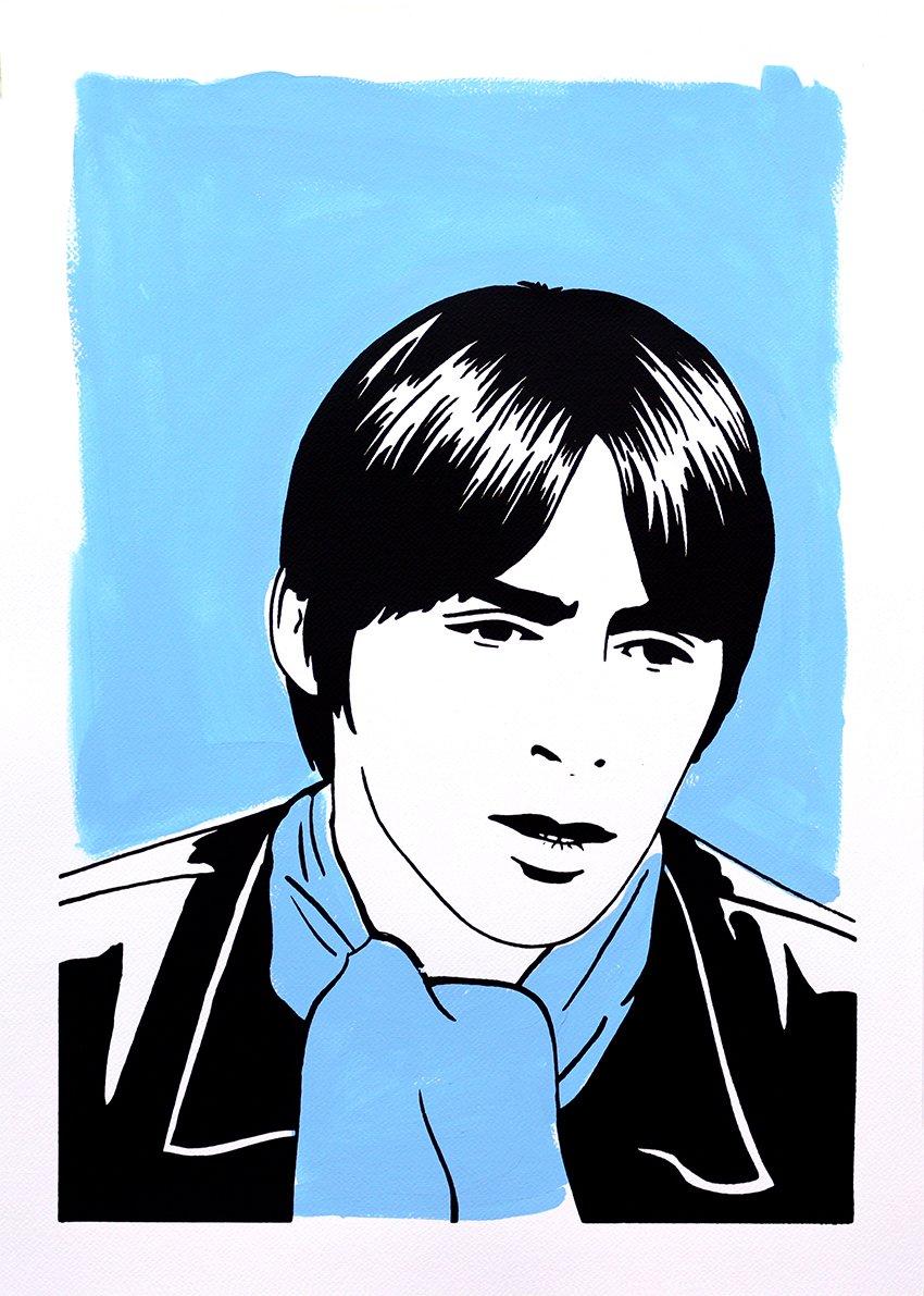 "Image of ""Paul Weller (Version Blue)"""