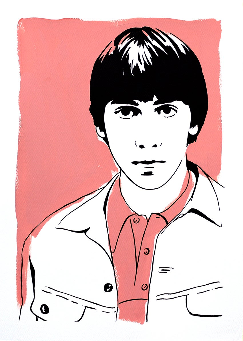 "Image of ""Keith Moon (Version Pink)"""
