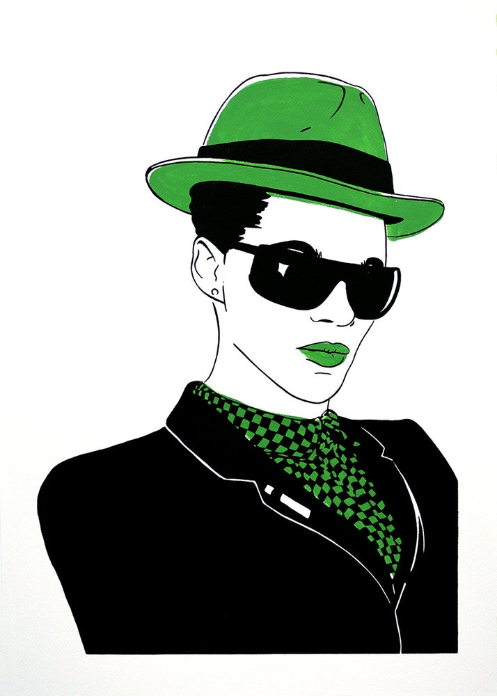 "Image of ""Pauline Black (Version Green)"""