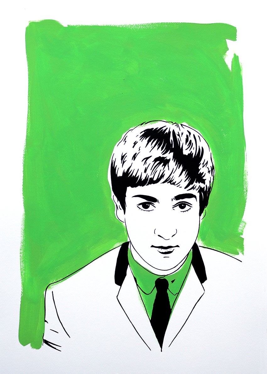 """Image of """"John Lennon (Version Green)"""""""