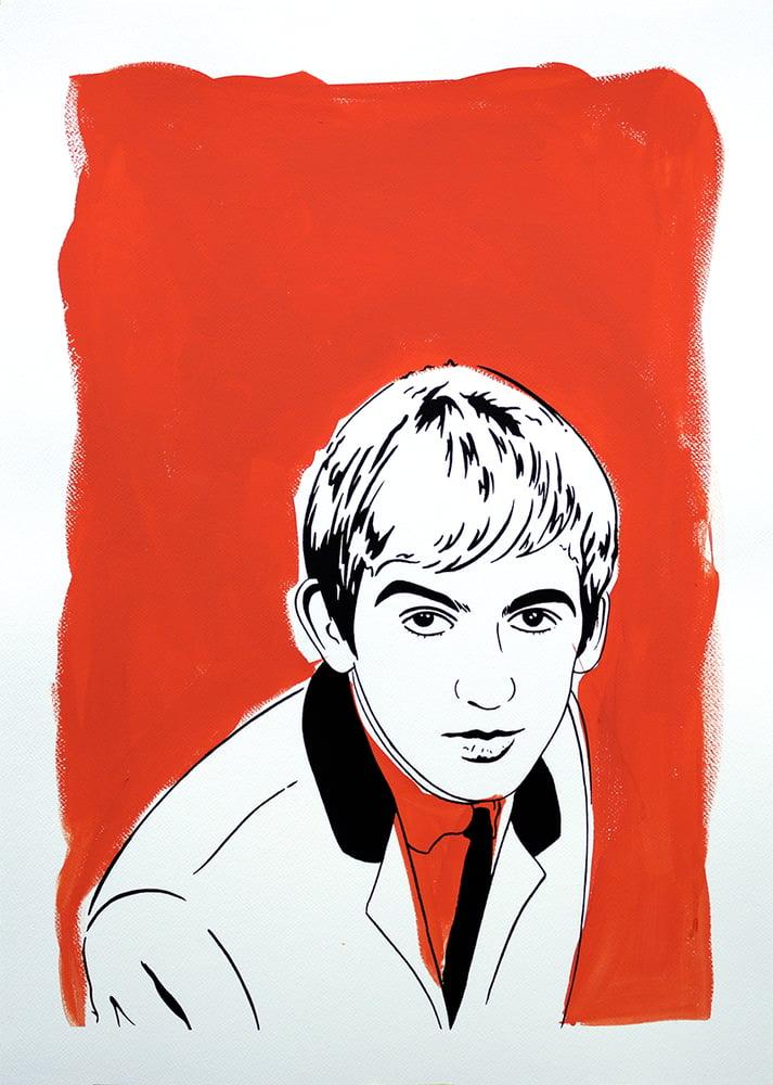 "Image of ""George Harrison (Version Orange)"""