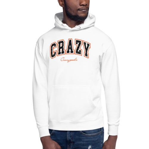 Image of Crazy Arch White Hoodie