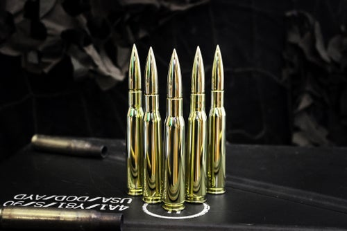 Image of Hot Shots .50 Caliber hand spinners full brass