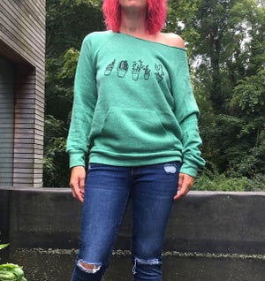 Image of Succulents Sweatshirt