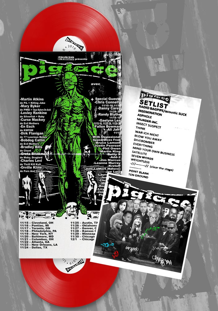 Image of Pigface LIVE 2019 DELUXE signed VINYL EDITION
