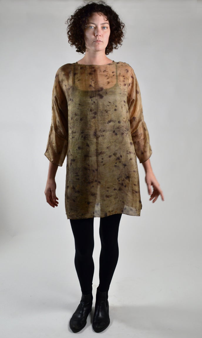 Image of Iron spot tissue tunic