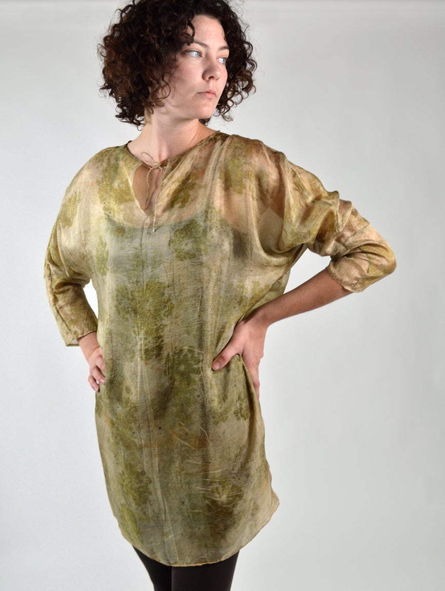 Image of Queen Annes lace tissue tunic