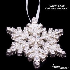 Image of Swarovski Crystal Snowflake Ornament Collectible