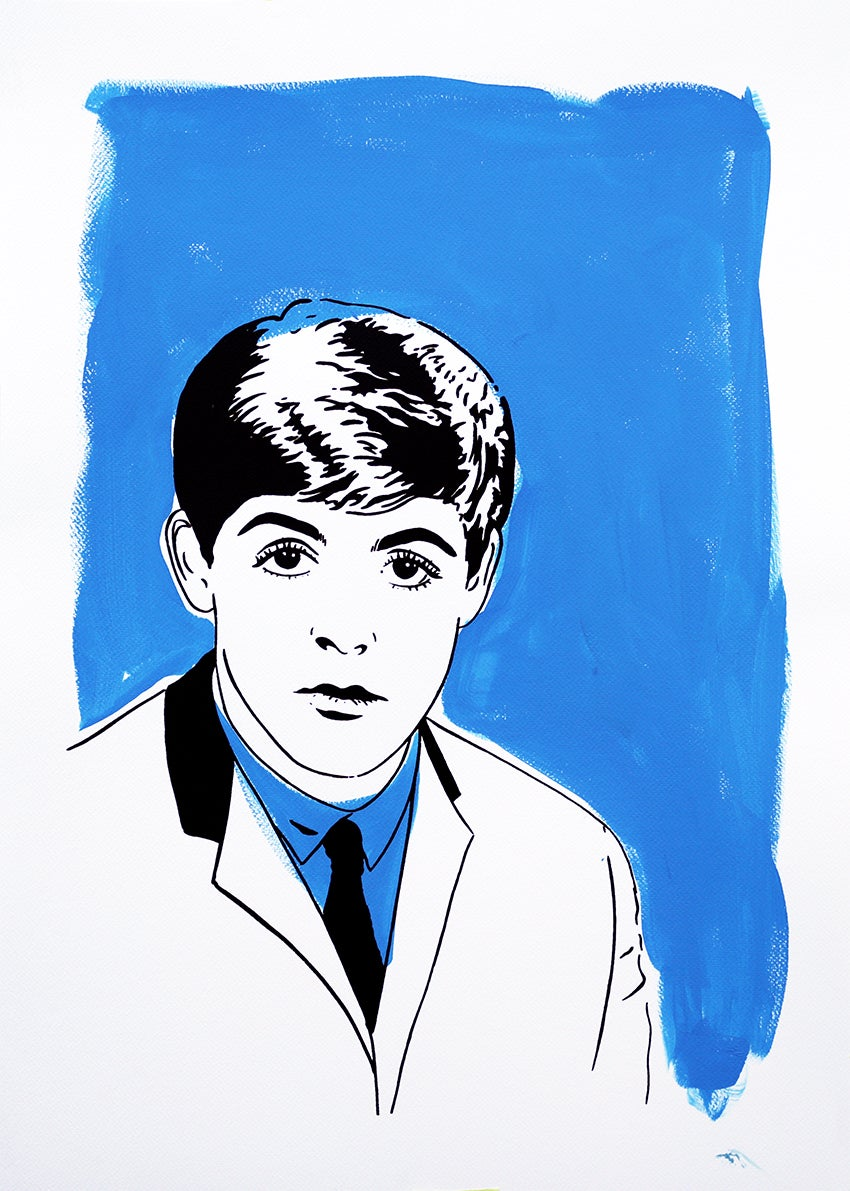 "Image of ""Paul McCartney (Version Blue)"""
