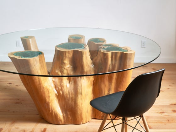 Image of seven lakes table