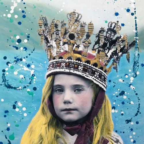 Image of Sandie Carol - Fjordprinsessa (Blue edition) HF