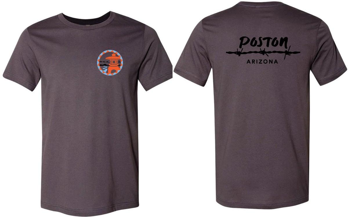 Image of Poston T-shirt (Grey)