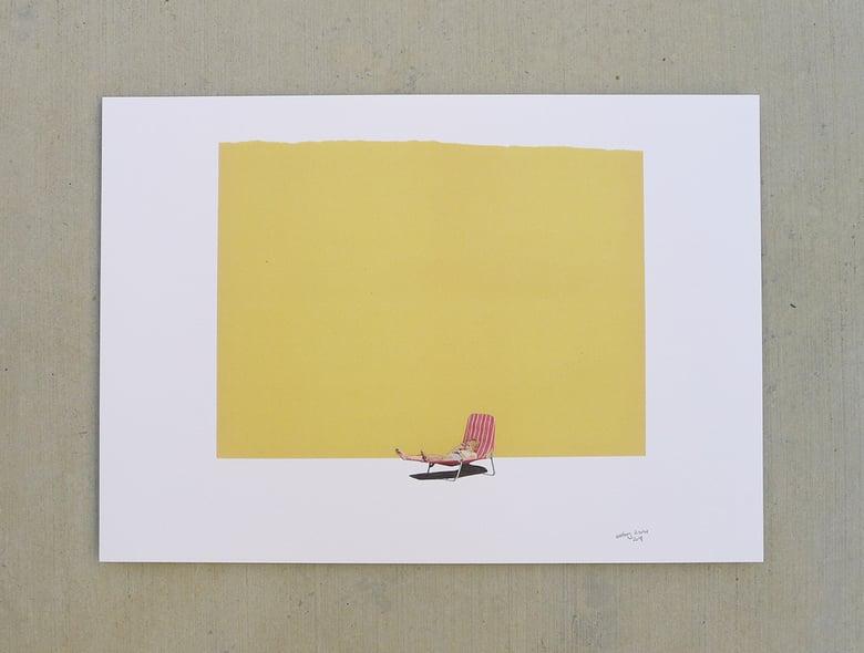 Image of 'summerSLUMP' print