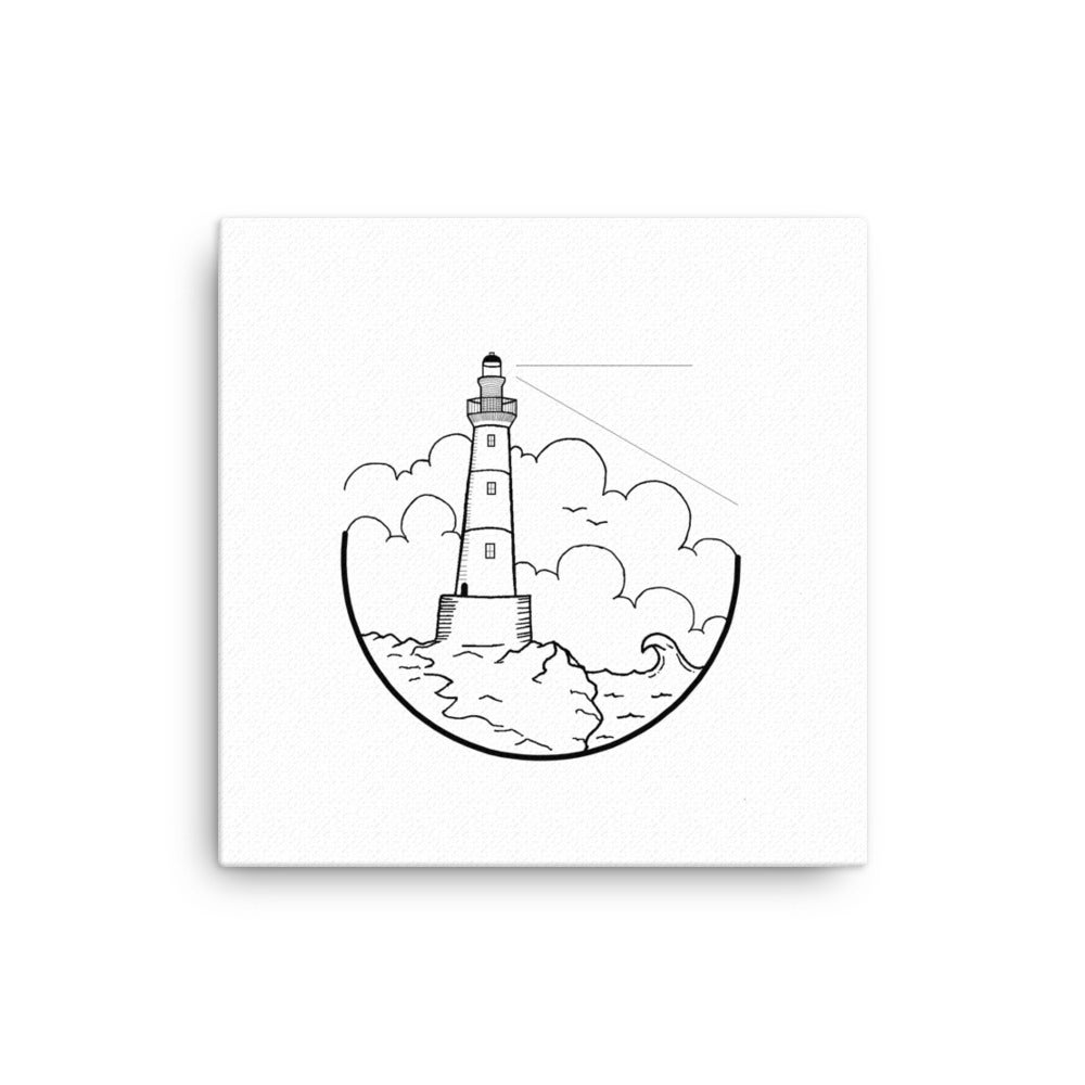 Image of Canvas Wrapped Lighthouse