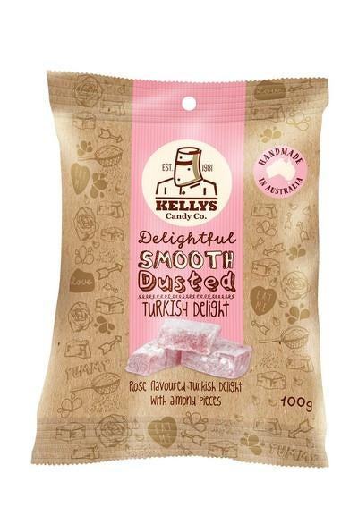 Image of TURKISH DELIGHT - SNACK PACK 100G (1) INDIVIDUAL