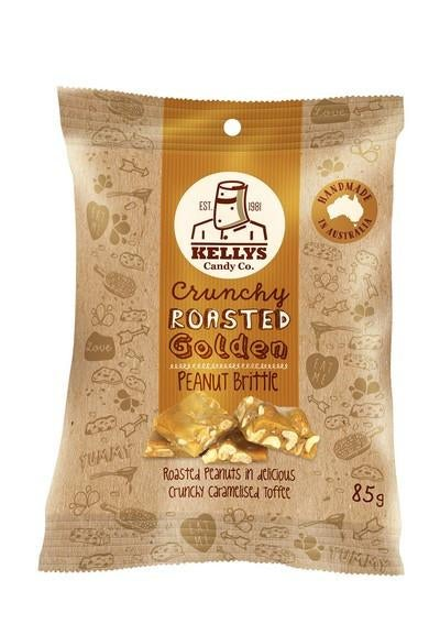 Image of PEANUT BRITTLE - SNACK PACK 85G (1) INDIVIDUAL
