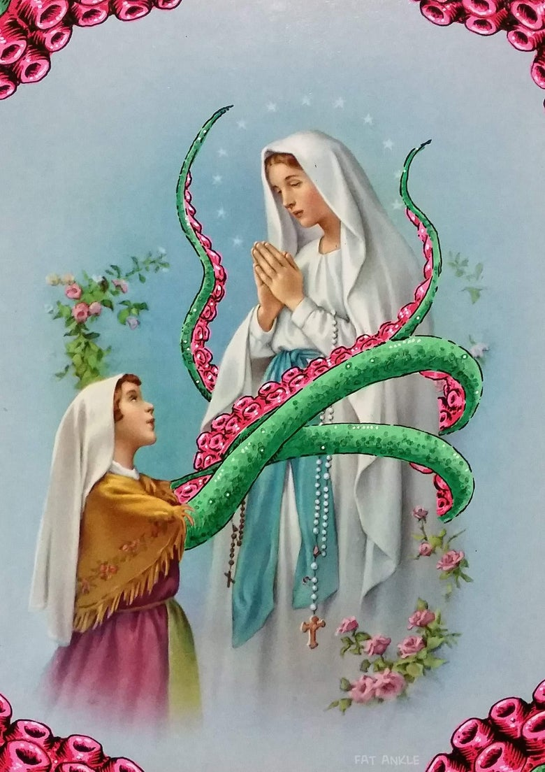 Image of Tentacle Mary A4