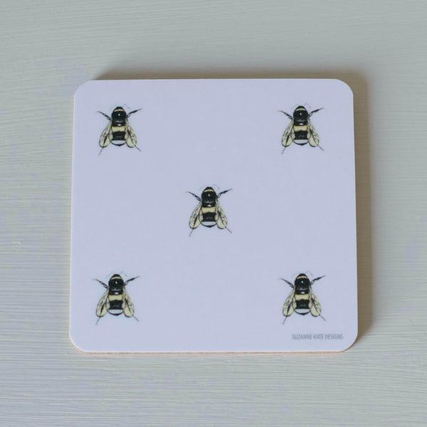 Image of Bee coaster