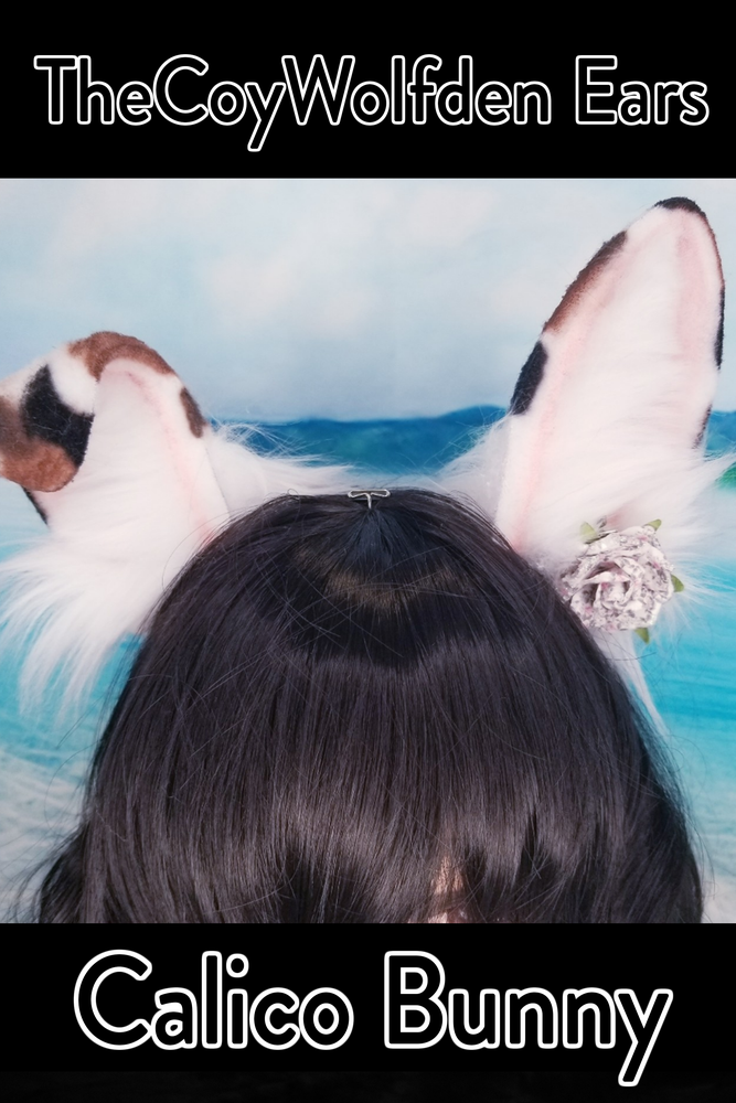 Image of Calico Bunny Ears