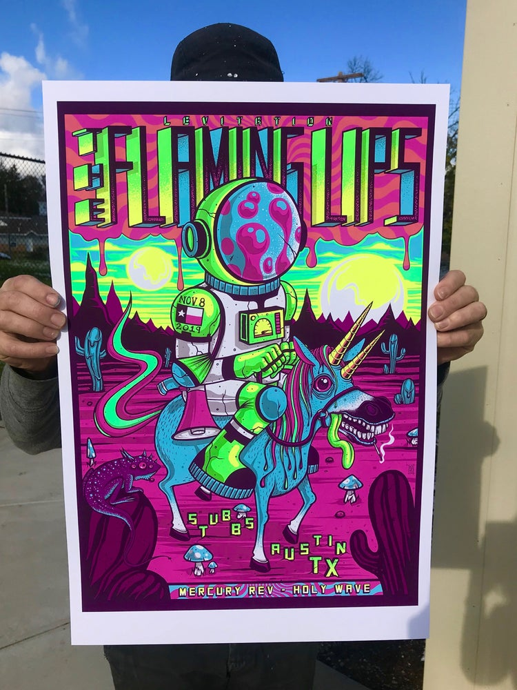 Image of The Flaming Lips - Levitation 2019 - Artist Edition