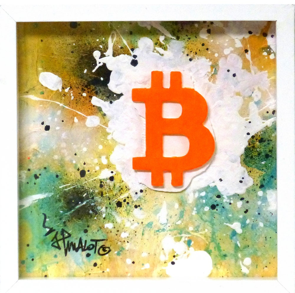 Image of Sculpture Bitcoin JP MALOT ART