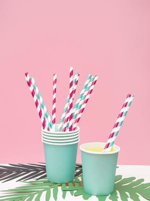 Image of Vasos color mint - 6 uds