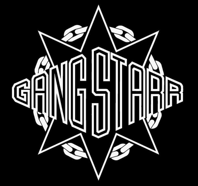 "Image of GANGSTARR HIP HOP MUSIC 4"" DECAL STICKER"