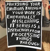 Image of Processing Emotions Screen Print