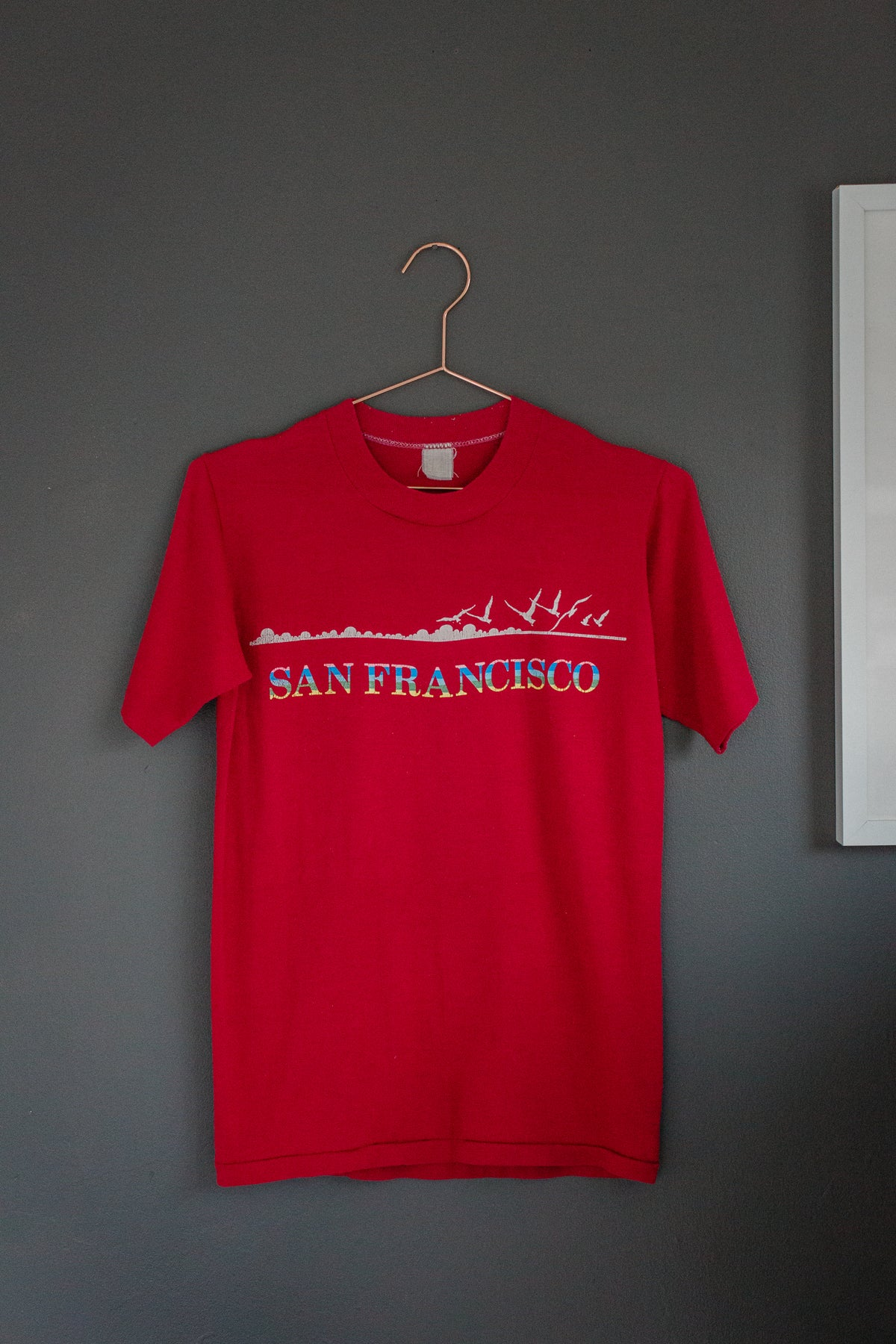 Image of 80's San Francisco 'Seagulls' Shirt